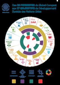 Les 17 Objectifs de Développement Durable des Nations Unies.