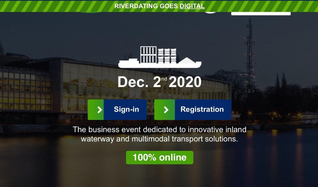 [ÉVÉNEMENT] RIVERDATING 2020 La solution fluviale pour la logistique