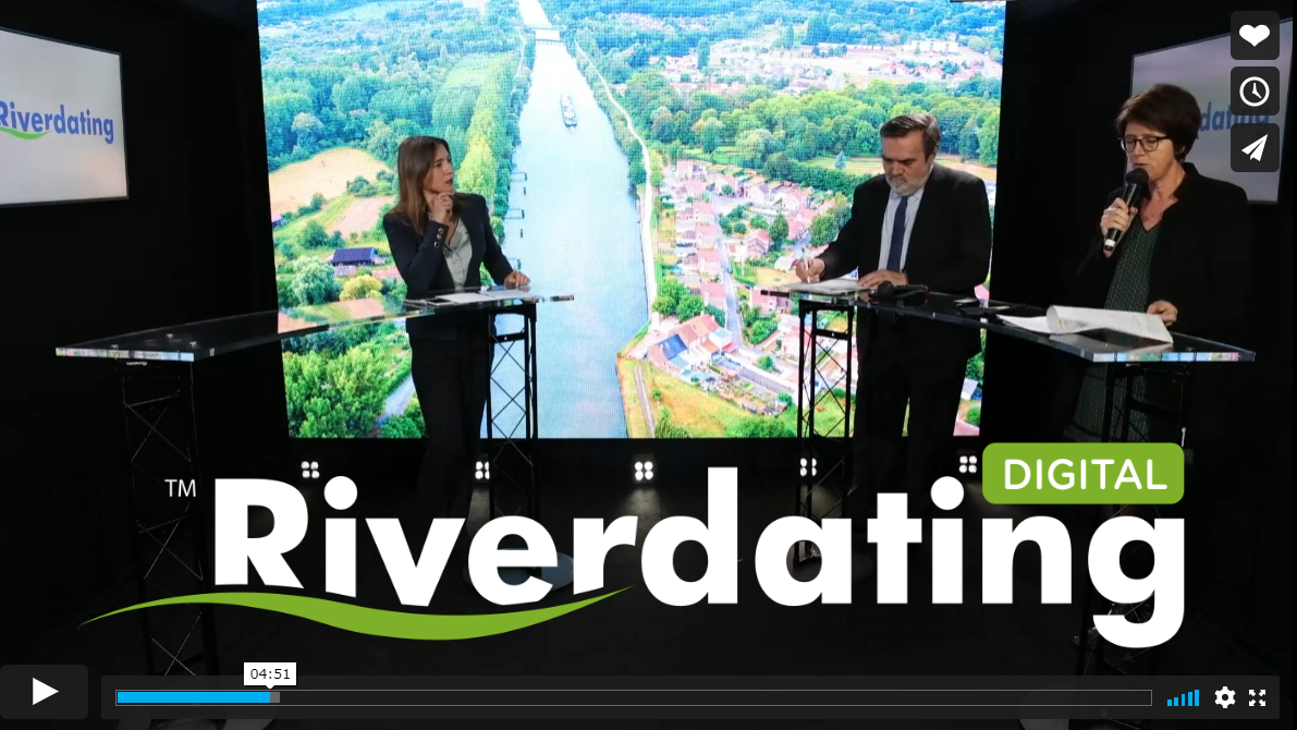 Replay Riverdating VNF logistique fluviale
