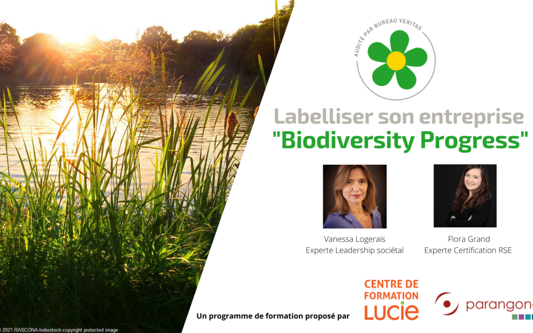 "[Formation] – Labelliser son organisation ""Biodiversity Progress"""