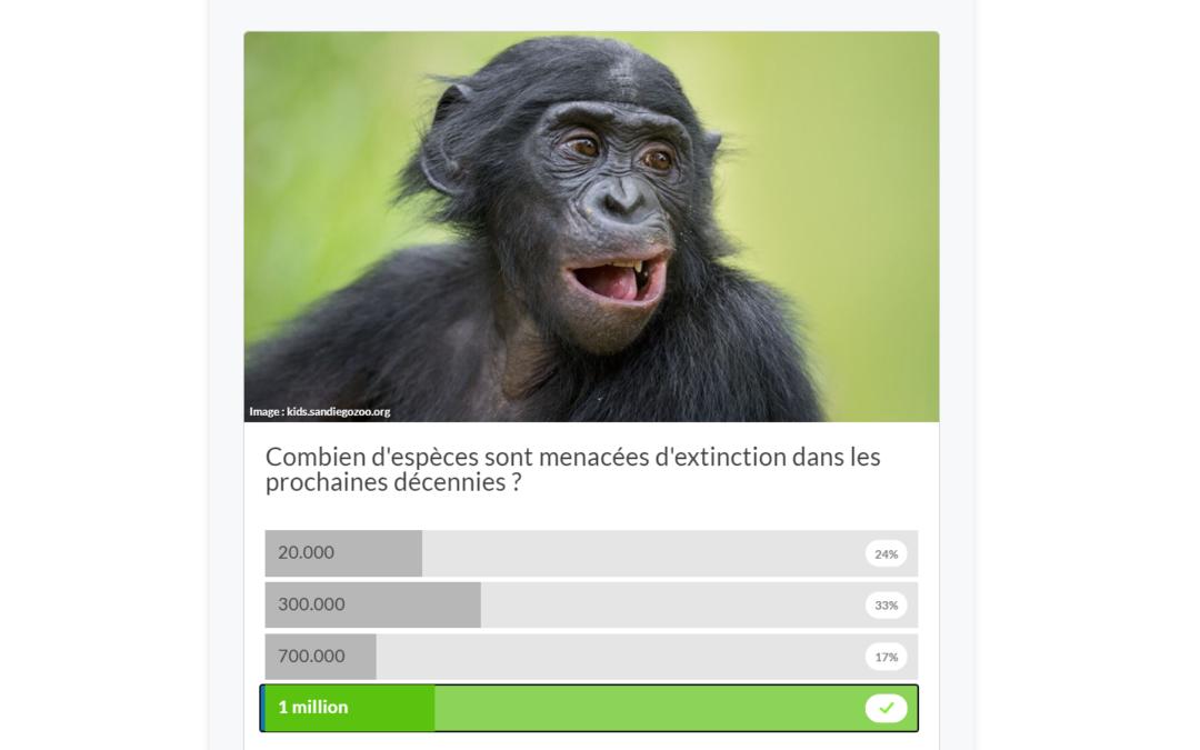 [Quizz Biodiversité] – Testez vos connaissances avec France Inter